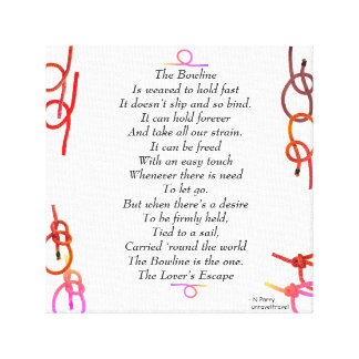 Toile La bouline - l'évasion de l'amant