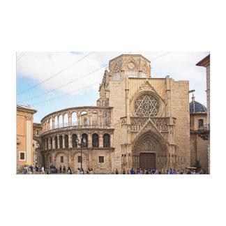 Toile La cathédrale de Valence