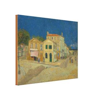 Toile La Chambre jaune par Vincent van Gogh