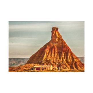 Toile La Cheminée de Fée - désert des Bardenas