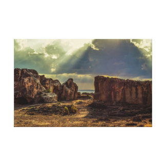 Toile La Chypre, tombes des rois