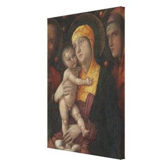 Toile La famille sainte avec le saint Mary Magdalene
