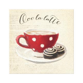 Toile La Latte d'Ooo