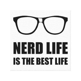 Toile La meilleure vie de la vie nerd