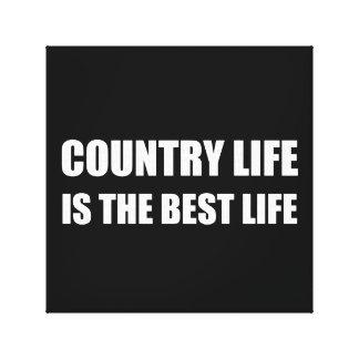 Toile La meilleure vie de vie à la campagne
