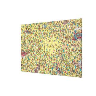 Toile Là où est la fièvre de l'or de Waldo  