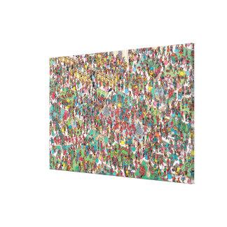 Toile Là où est Waldo   Muskeeters fanfaron
