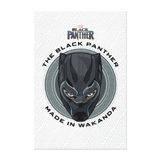 Toile La panthère noire | a fait dans Wakanda