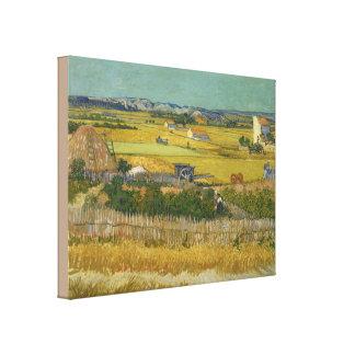 Toile La récolte par Vincent van Gogh