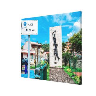 Toile ✅La statue du Nèg Mawon à Trénelle