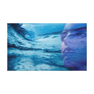 Toile La vague de la vie