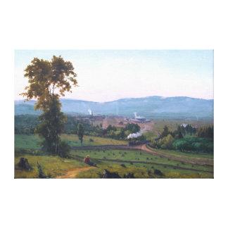 Toile La vallée de Lackawanna par George Inness