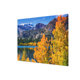 Toile Lac autumn autour de juin, la Californie