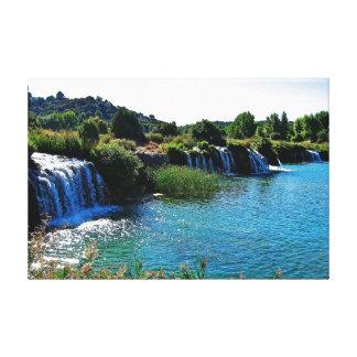 Toile Lagune-de-ruidera (Espagne)