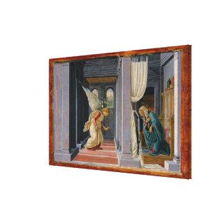 Toile L'annonce, circa 1485