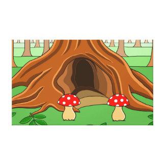 Toile L'arbre de sentinelle