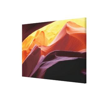 Toile L'Arizona, formations de grès du canyon | de Paria