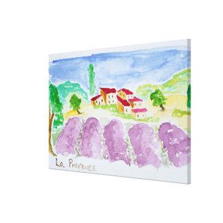 Toile Lavande Fields Abbaye de Senanque | Provence