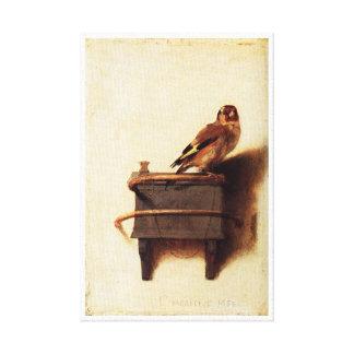 Toile Le chardonneret par Carel Fabritius