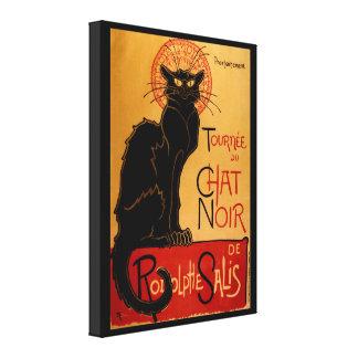 Toile Le Chat Noir de Steinlen's