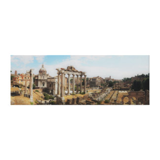 Toile Le forum - Rome Italie - panorama
