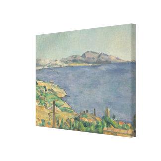 Toile Le Golfe de Marseille vu de L'Estaque