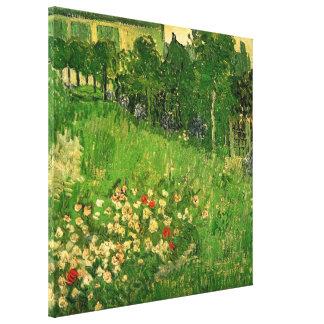 Toile Le jardin de Daubigny par Vincent van Gogh, art