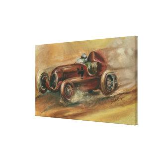 Toile Le Mans Racecar par le harpiste d'Ethan