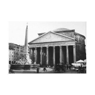 Toile Le Panthéon à Rome, Italie