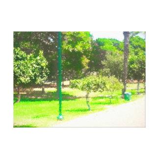 Toile Le parc 9 de Raanana