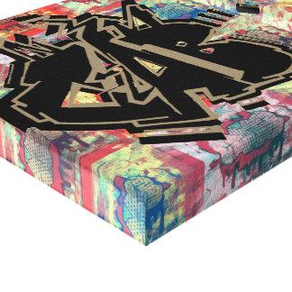 Toile Le Roi Gummy Grime Canvas Print