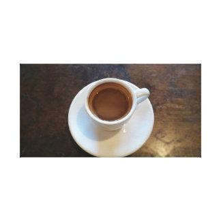 Toile Le tir parfait de café express