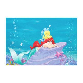 Toile Le trésor 2 des Besties-Vies d'Ariel |
