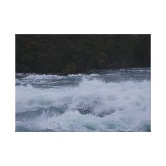 Toile Les eaux furieuses du Niagara !