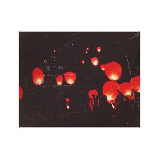 toile les lanternes
