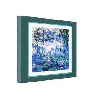 Toile Les nénuphars de Monet