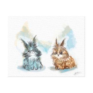 Toile Les petits lapins Toiles