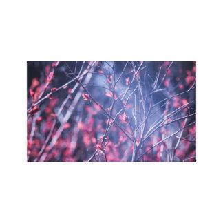 Toile Les premières fleurs de ressort
