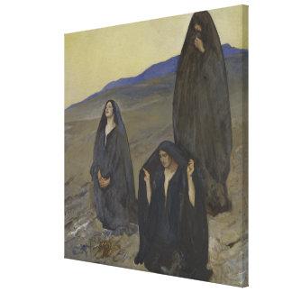 Toile Les trois Marys
