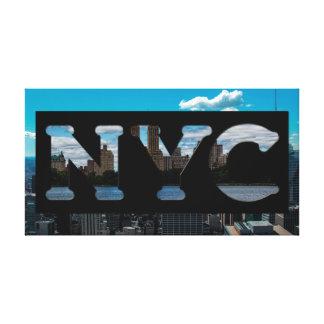 Toile Lettrage de photographie de NYC New York City