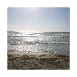 Toile Lever de soleil de plage