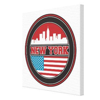 Toile L'horizon | Etats-Unis de New York diminuent