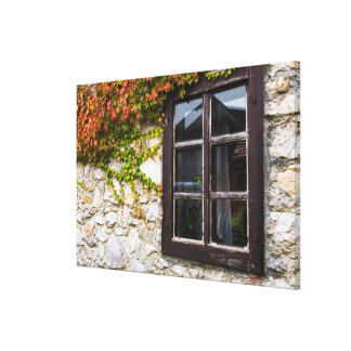 Toile Lierre et fenêtre, Croatie