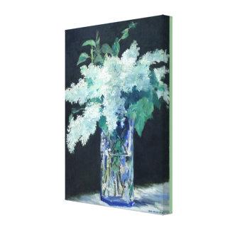Toile Lilas blanc par Edouard Manet