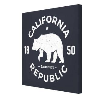 Toile Logo | de la Californie le Golden State