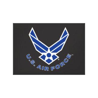 Toile Logo de l'Armée de l'Air - bleu