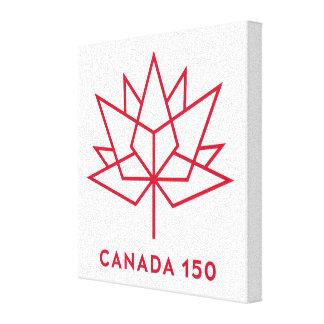 Toile Logo du Canada 150
