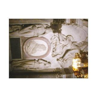 Toile Louis XIV Basilique St Denis 60.96x45.72cm, 3.81cm