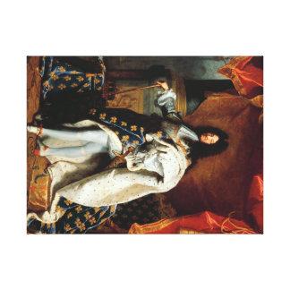Toile Louis XIV en costume de sacre60.96x45.72cm, 3.81cm