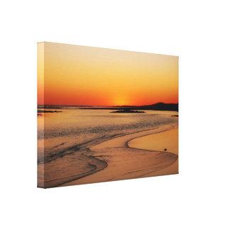 Toile Lueur de coucher du soleil de l'Australie